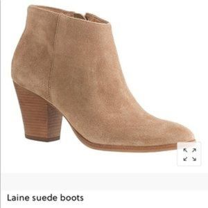 J. Crew Laine suede boots